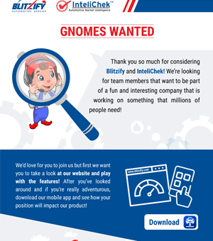 Gnomes Wanted