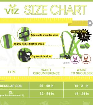 Seat Belts Size Chart