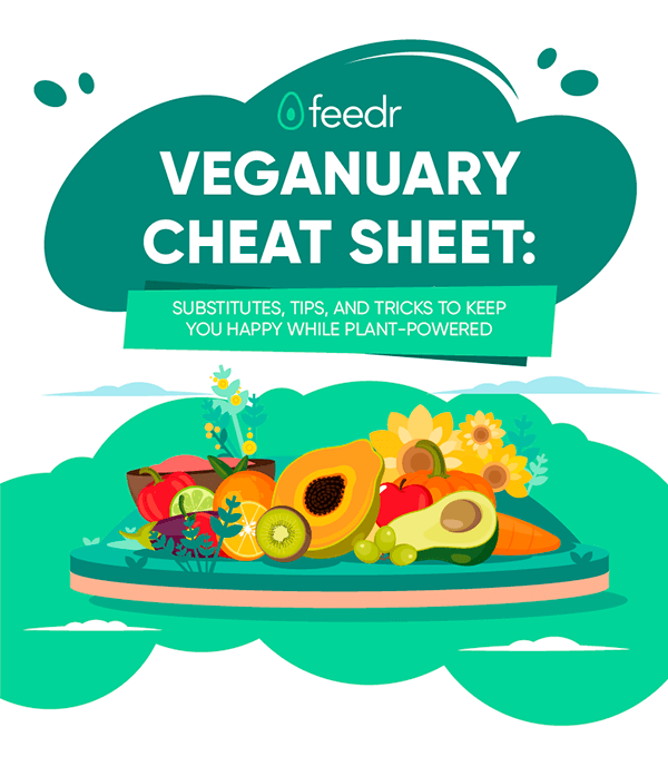 Feedr Veganuary Infographic