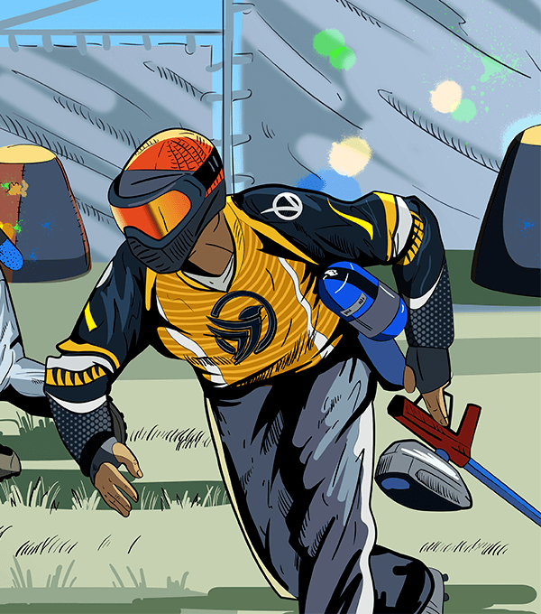 Greg Hastings Tournament Illustration